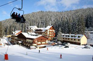 Lyžování Slovensko, Nízké Tatry - Jasná - Ski & Wellness residence Družba
