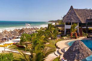 Zanzibar - Pwani Mchangani na 9 až 15 dní, light all inclusive s dopravou Prahy nebo letecky přímo na pláži