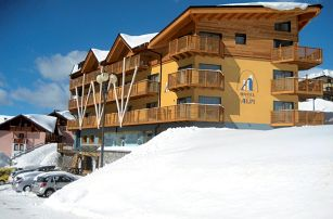 Lyžování Itálie, Skirama Dolomiti Adamello Brenta - Hotel Delle Alpi
