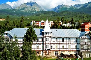 Jedinečný pobyt v Tatrách vč. polopenze i sauny