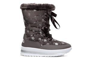 Dámské tmavě šedé sněhule Chloe 014
