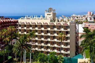 Kanárské ostrovy - Tenerife na 8 dní, snídaně nebo bez stravy s dopravou letecky z Vídně