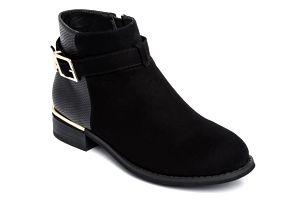 Dámské černé kotníkové boty Halsey 124