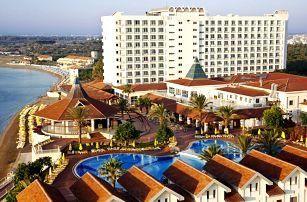 Kypr - Severní Kypr na 8 dní, ultra all inclusive s dopravou letecky z Prahy nebo  Brna, přímo na pláži