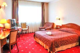 Krakov v Hotelu Sympozjum & SPA **** s polopenzí, saunou a bazénem neomezeně