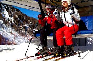 Lyžování v italských Alpách s neomezeným wellnesem v hotelu Taufers