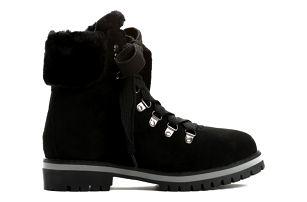 Dámské černé kotníkové boty Adonis 9091