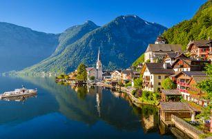 Výlet do Hallstattu a projížďka lodí mezi Alpami