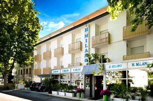 8–10denní Itálie, Emilia Romagna | Hotel Milano*** 250 m od pláže | Děti zdarma | Klimatizace | Polopenze | Autobusem nebo vlastní doprava