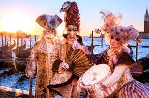Karnevalový rej v Benátkách s ubytováním na 1 noc