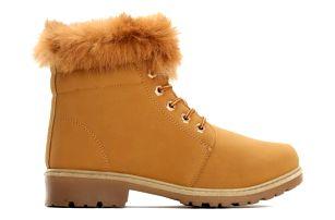 Dámské hnědé kotníkové boty Lio 6190