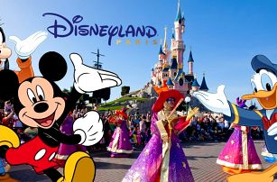 Zájezd do Paříže s návštěvou Disneylandu na 4 nebo 5 dní