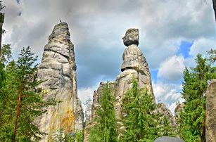 3–6 dní v Adršpachu včetně polopenze
