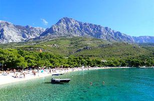 Chorvatsko - Makarska na 10 dní, polopenze s dopravou autobusem