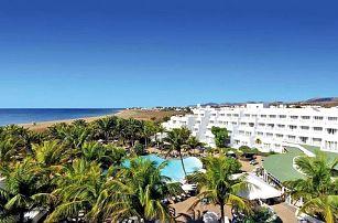 Kanárské ostrovy, Lanzarote, letecky na 8 dní snídaně