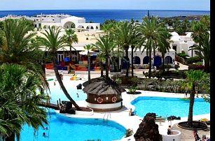 Kanárské ostrovy, Lanzarote, letecky na 8 dní polopenze