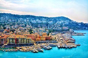Kouzelná Provence s návštěvou Azurového pobřeží, města Avignon a Nice s ubytováním a snídaní