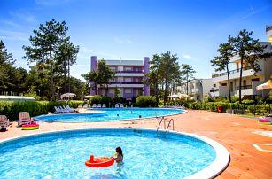 8–10denní Itálie, Bibione | Residence Ducale**** | Bazén a parkování zdarma | Strava vlastní