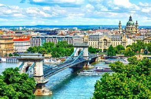 Zima i jaro v Budapešti: 3–4 dny se snídaní
