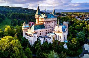 Pobyt u zámku Bojnice se snídaní či polopenzí