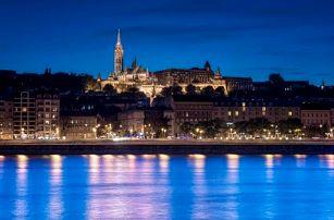 Budapešť se vstupem do lázní Széchenyi
