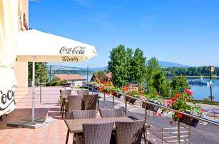 Hotel na břehu Oravské přehrady + drink