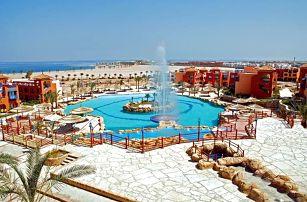 Egypt - Sharm El Sheikh na 8 dní, all inclusive s dopravou letecky z Prahy, 500 m od pláže