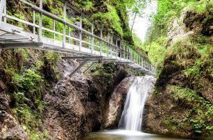 Jánošíkove diery: soutěsky, kaňony, vodopády