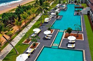 Srí Lanka - Bentota na 7 dní, polopenze s dopravou letecky z Prahy, přímo na pláži