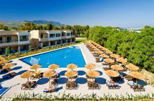 Řecko - Kos na 8 až 9 dní, all inclusive s dopravou letecky z Prahy nebo Ostravy, 75 m od pláže