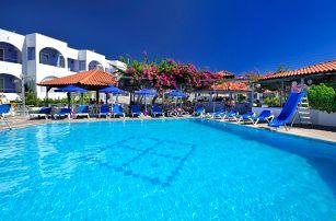 Řecko - Rhodos na 8 až 9 dní, all inclusive s dopravou letecky z Prahy, 250 m od pláže