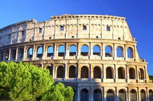 Itálie - Řím autobusem na 5 dnů