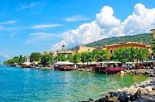 Lago di Garda, Elegantní Park hotel Jolanda s vlastní wellness zónou a polopenzí