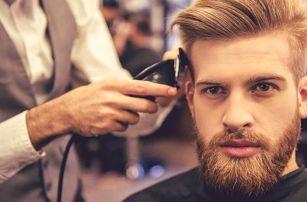 Střih vč. ošetření obličeje v perském barbershopu