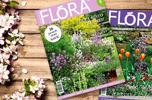 Kompletní ročník 2018 časopisu Flóra na zahradě