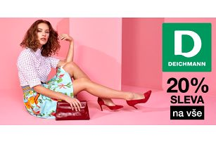 20% sleva do on-line obchodu Deichmann