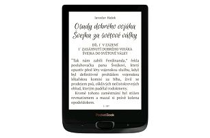 Čtečka e-knih Pocket Book 616 Basic Lux 2 černá (PB616W-H-WW)