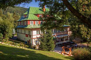 Jaro pro rodinu v Krkonošském hotelu Atlas s polopenzí