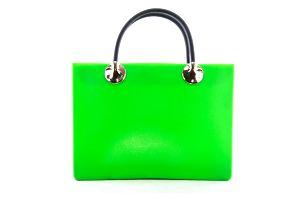 Kabelka plastová Bag pastelová