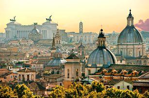 Řím, Vatikán a koupání v Lido di Ostia   2 noci se snídaní   5denní poznávací zájezd do Itálie