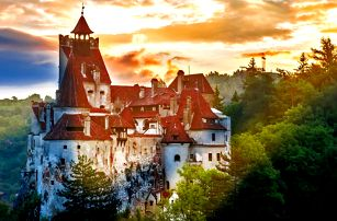 Rumunsko s polopenzí: Drákulův hrad i krásné hory