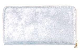 TESSRA Milano Dámská peněženka v metalické barvě