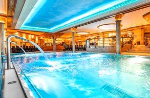Wellness pobyt v luxusním Hotelu Sport Aqua *** s polopenzí v centru Púchova