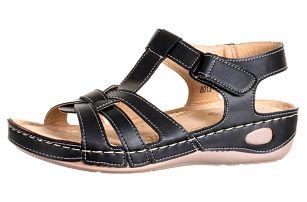 Minke Dámské sandály se zkříženými pásky zdravotní