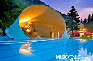 Maďarsko: Lázně Miškovec v hotelu s neomezeným wellness + snídaně, nebo polopenze