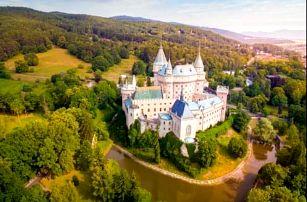 Lázeňské Bojnice v hotelu u zámku - CELOROČNĚ! Pobyt s polopenzí i wellness