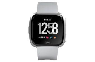 Chytré hodinky Fitbit Versa (NFC) - Gray / Silver Aluminum (FB505SRGY-EU)