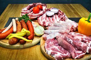 Kvalitní maso na gril: vepřové, hovězí i klobásy