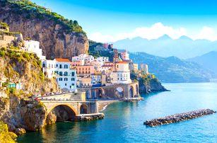 Jižní Itálie s návštěvou Říma a Amalfského pobřeží, Itálie