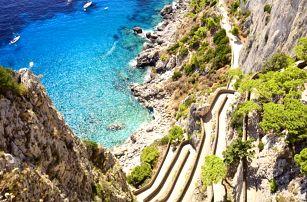 Krásy Jižní Itálie - Řím, Neapol, Vesuv, Pompeje, Herculaneum, Caserta i Capri, Itálie
